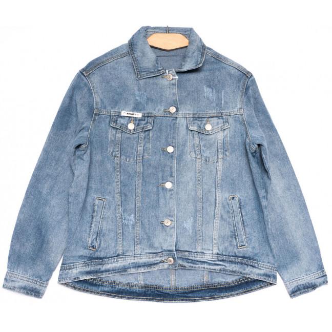 0807 New jeans куртка джинсовая женская синяя весенняя коттоновая (ХS-XXL, 6 ед.) New Jeans: артикул 1103735