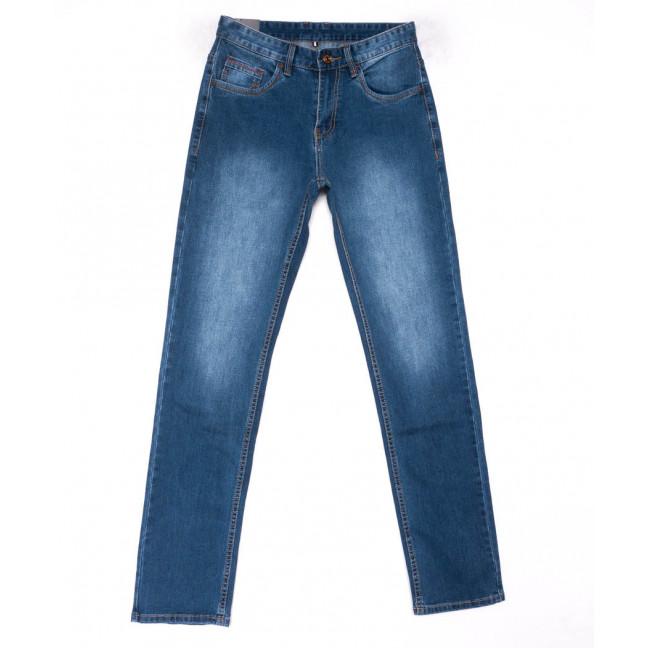 1020 Mark Walker джинсы мужские синие весенние стрейчевые (29-38, 8 ед.) Mark Walker: артикул 1103300