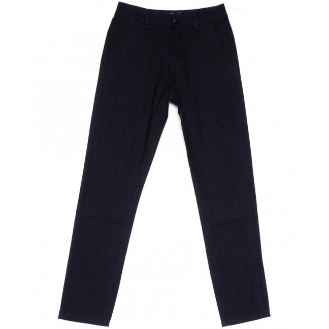 0606 Plus Press брюки на мальчика черные весенние стрейчевые (24-30, 8 ед.) Plus Press: артикул 1103681