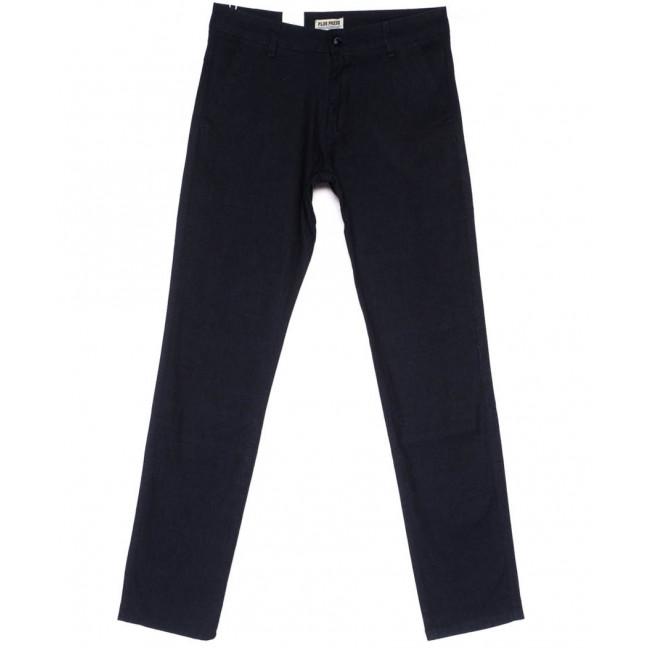 0871 Plus Press брюки мужские черные весенние стрейчевые (30-38, 8 ед.) Plus Press: артикул 1103686