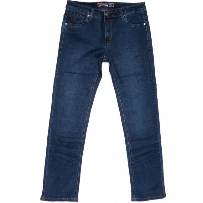 6607 Bagrbo джинсы мужские полубатальные синие весенние стрейчевые (32-38, 8 ед.) Bagrbo: артикул 1103679
