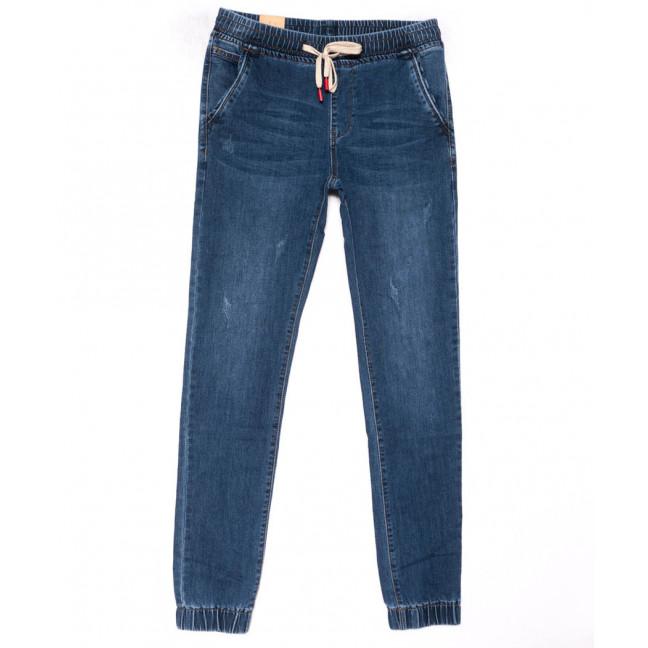 5012-A Vitions джинсы мужские молодежные на резинке синие весенние стрейчевые (27-34, 8 ед.) Vitions: артикул 1103286
