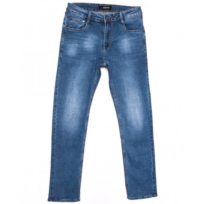 10593 Pokaro джинсы мужские полубатальные синие весенние стрейчевые (32-38, 8 ед.) Pokaro: артикул 1103834
