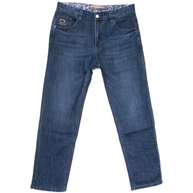 3042 Fangsida джинсы мужские батальные синие весенние стрейчевые (34-41, 8 ед.) Fangsida: артикул 1104042