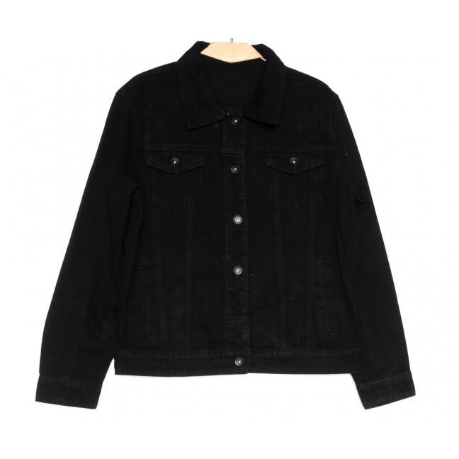 0818 New jeans куртка джинсовая женская черная весенняя коттоновая (S-XXL, 6 ед.) New Jeans: артикул 1103733