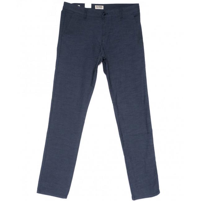 0901 Plus Press брюки мужские полубатальные синие весенние стрейчевые (32-40, 8 ед.) Plus Press: артикул 1103682