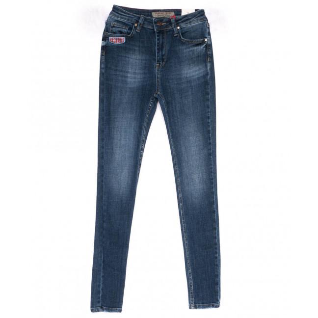 3810-Y Cracpot джинсы женские зауженные синие весенние стрейчевые (26-30, 5 ед) Cracpot: артикул 1103484