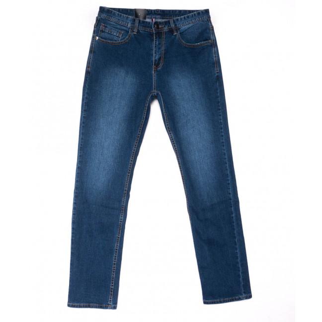 1015 Mark Walker джинсы мужские полубатальные синие весенние стрейчевые (32-38, 8 ед.) Mark Walker: артикул 1103299