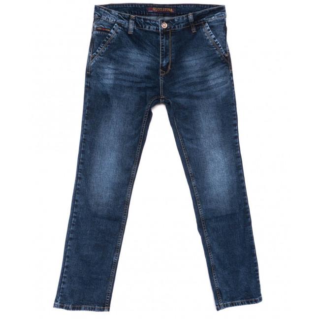8648 Good Avina джинсы мужские полубатальные синие весенние стрейчевые (32-38, 8 ед.) Good Avina: артикул 1103469