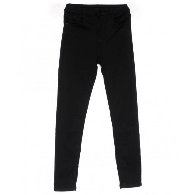 0103 Lelena джинсы женские зауженные черные весенние стрейчевые (25-30, 6 ед.) Lelena: артикул 1103607
