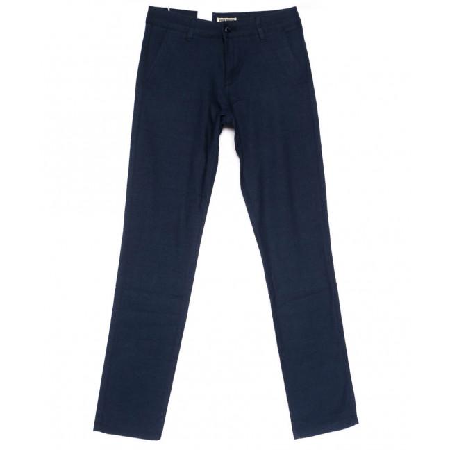 0850 Plus Press брюки мужские молодежные синие весенние стрейчевые (28-34, 8 ед.) Plus Press: артикул 1103690