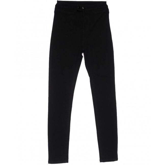 0132 Lelena джинсы женские зауженные черные весенние стрейчевые (25-30, 6 ед.) Lelena: артикул 1103622
