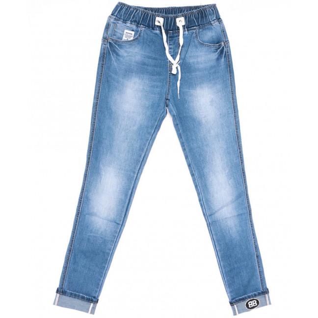 1522 Lady N джинсы женские батальные синие весенние стрейчевые (30-36, 6 ед.) Lady N: артикул 1104260