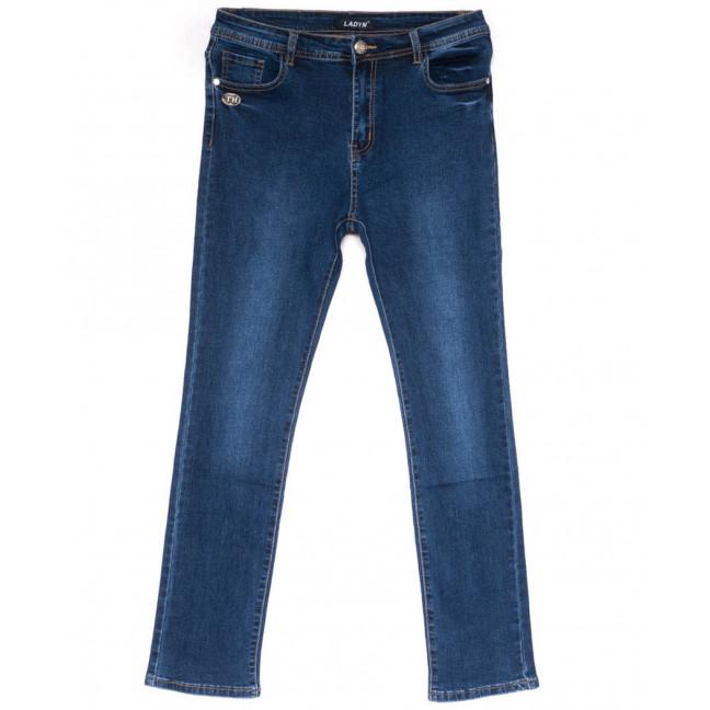 1520 Lady N джинсы женские батальные стильные весенние стрейчевые (32-42, 6 ед.) Lady N: артикул 1103594
