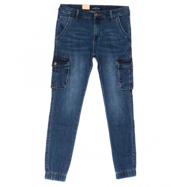 5011-A Vitions джинсы мужские молодежные на резинке синие весенние стрейчевые (27-34, 8 ед.) Vitions: артикул 1103276