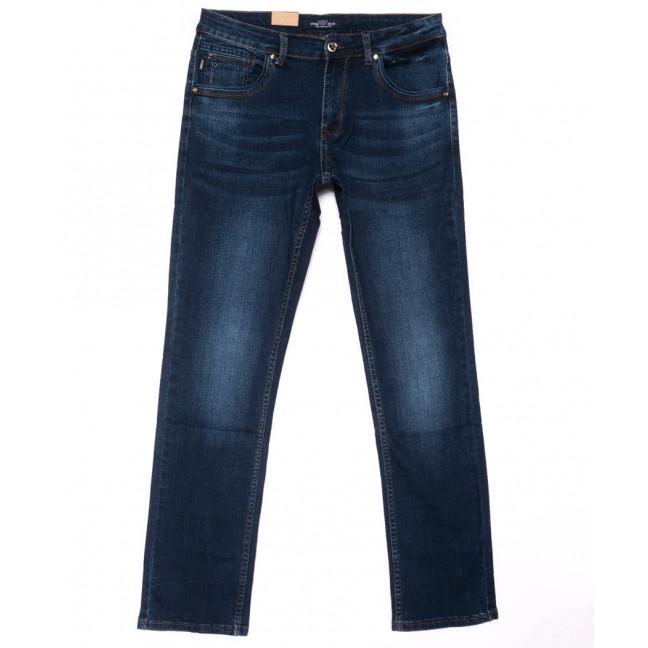 5020 Vitions джинсы мужские полубатальные синие весенние стрейчевые (32-38, 8 ед.) Vitions: артикул 1103283