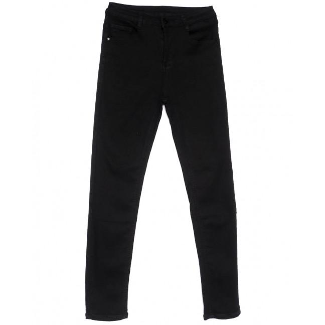 0128 Lelena джинсы женские зауженные черные весенние стрейчевые (25-30, 6 ед.) Lelena: артикул 1103610