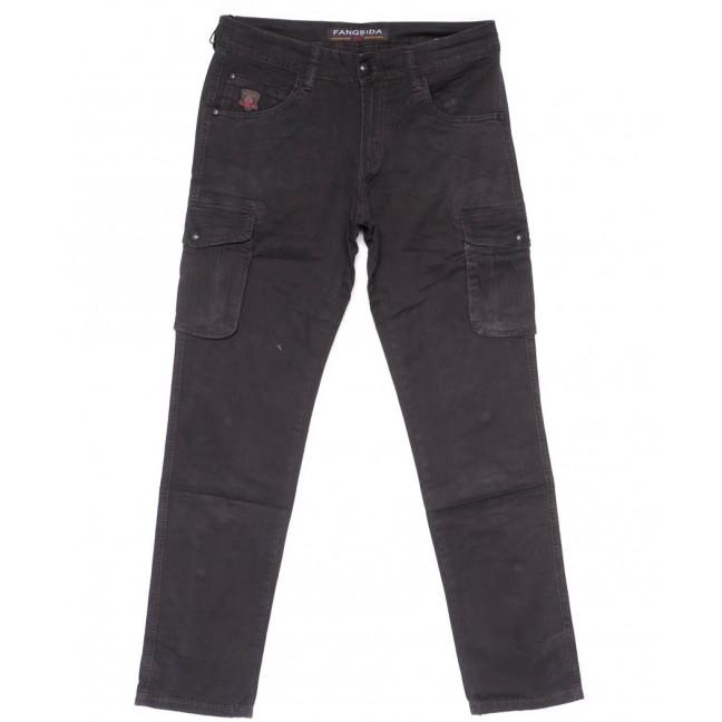 2134 Fangsida брюки мужские карго серые весенние стрейчевые (31-38, 8 ед.) Fangsida: артикул 1103694
