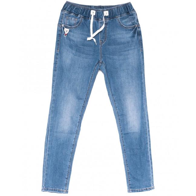 1525 Lady N джинсы женские на резинке синие весенние стрейчевые (25-30, 6 ед.) Lady N: артикул 1104247