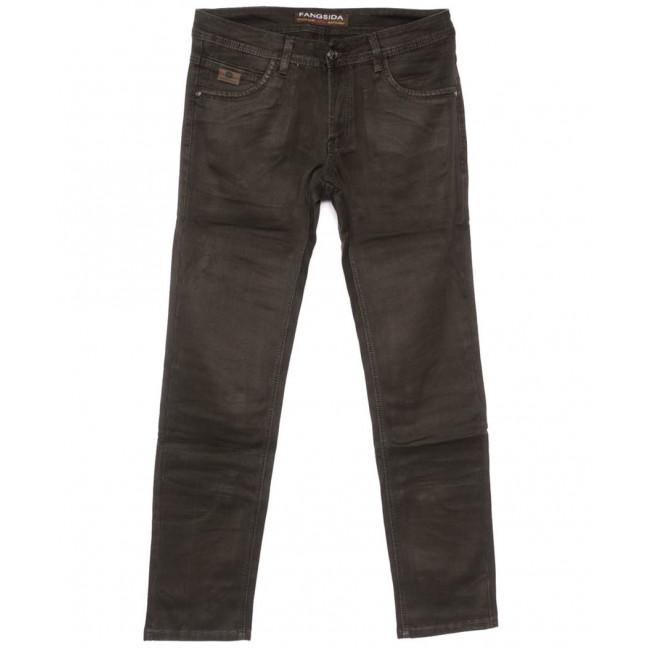 4056 Fangsida джинсы мужские коричневые весенние стрейчевые (30-38, 8 ед.) Fangsida: артикул 1104031