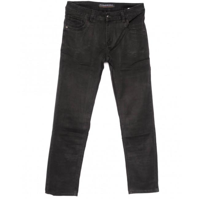 4043 Fangsida джинсы мужские полубатальные черные весенние стрейчевые (32-38, 8 ед.) Fangsida: артикул 1104034
