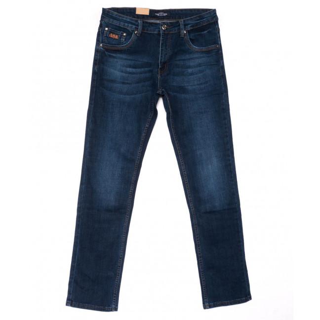 5021 Vitions джинсы мужские полубатальные синие весенние стрейчевые (32-38, 8 ед.) Vitions: артикул 1103284