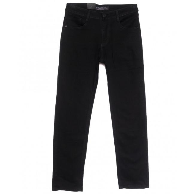 0208 G-Max джинсы мужские полубатальные черные весенние стрейчевые (32-38, 8 ед.) G-Max: артикул 1105715