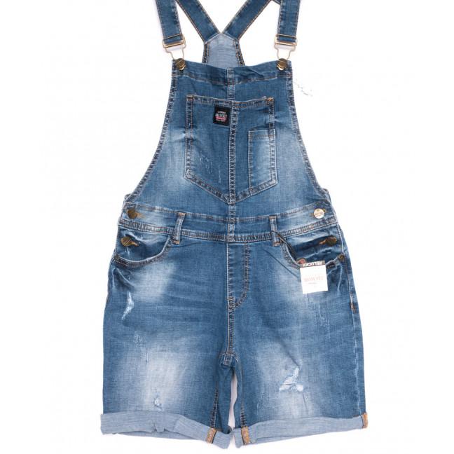 6618-2 Y Relucky комбинезон-шорты джинсовый женский летний стрейчевый (25-30, 6 ед.) Relucky: артикул 1105396
