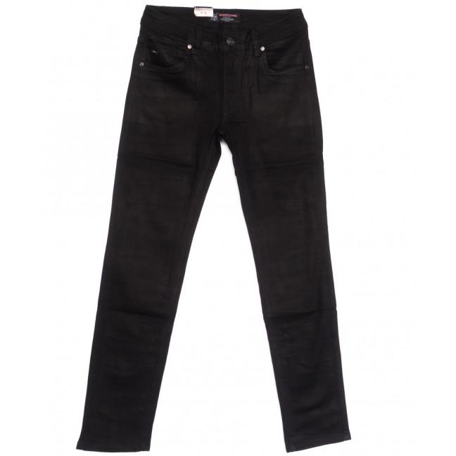 9395 God Baron джинсы мужские зауженные черные весенние стрейчевые (29-38, 8 ед.) God Baron: артикул 1105447