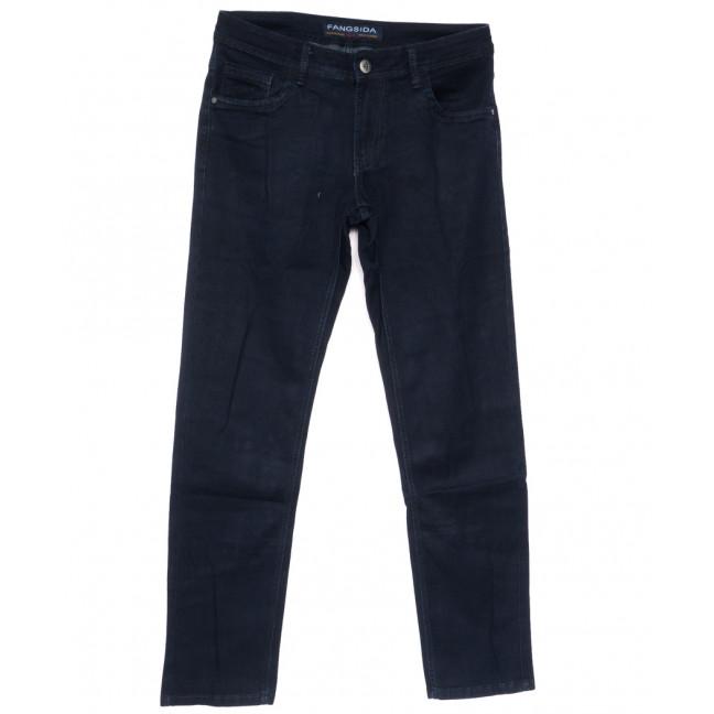 4054 Fangsida джинсы мужские полубатальные темно-синие весенние стрейчевые  (32-38, 8 ед.) Fangsida: артикул 1105353
