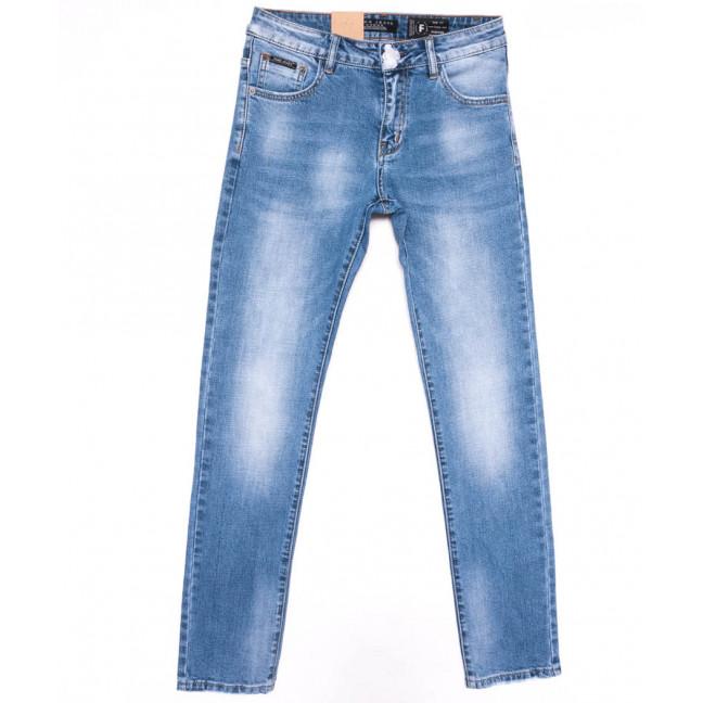 2206 Fang джинсы мужские синие весенние стрейчевые (29-36, 8 ед.) Fang: артикул 1104521