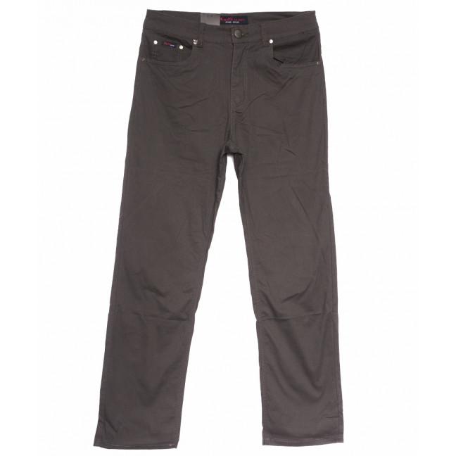 3030-В LS джинсы мужские полубатальные коричневые весенние стрейчевые (32-40, 8 ед.) LS: артикул 1105280