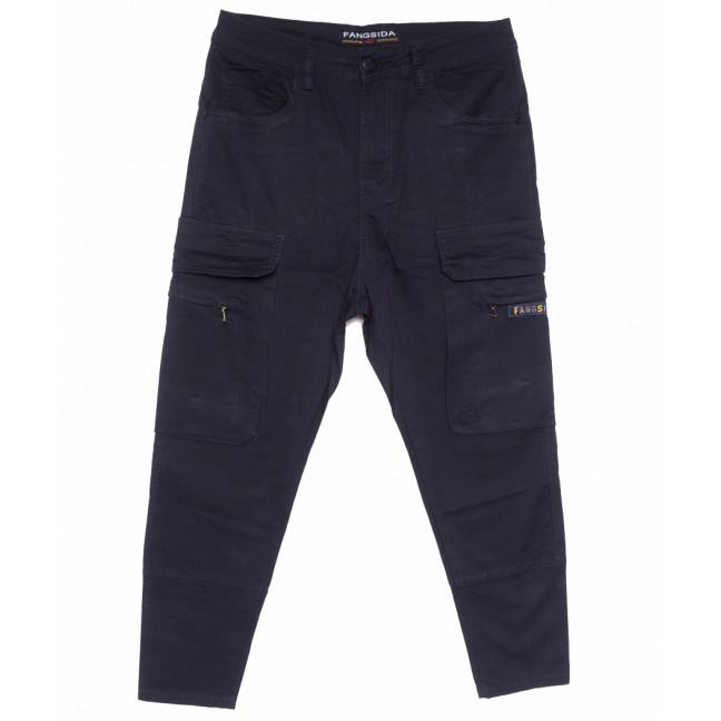 2123 Fangsida брюки мужские темно-синие весенние стрейчевые (29-36, 8 ед.) Fangsida: артикул 1105350