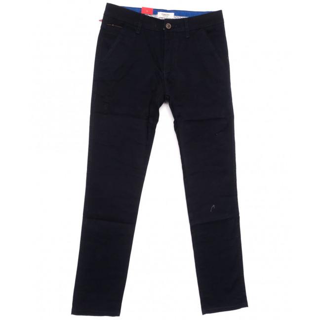 0162-5 Pobeda брюки мужские черные весенние стрейчевые (31-38, 8 ед.) Pobeda Denim: артикул 1105098