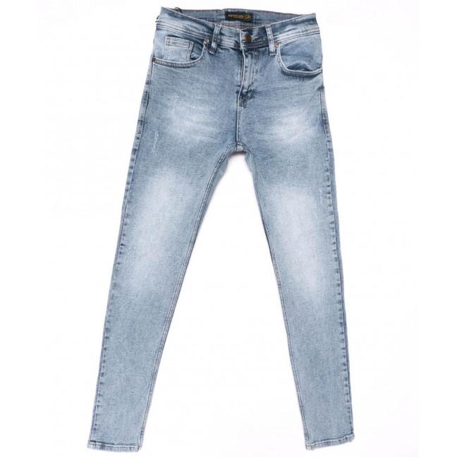 5762 Redman джинсы мужские с царапкой синие весенние стрейчевые (29-36, 8 ед.) REDMAN: артикул 1104927
