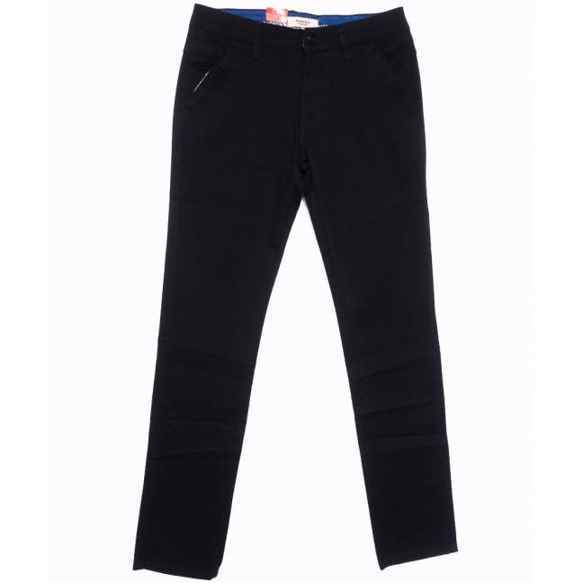 0721-29 Pobeda брюки мужские черные весенние стрейчевые (29-38, 8 ед.) Pobeda Denim: артикул 1105080