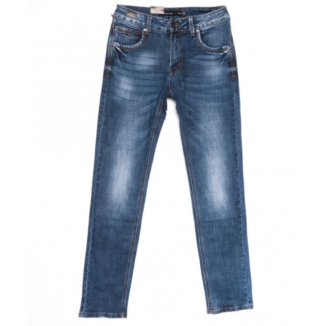 9425 God Baron джинсы мужские с теркой синие весенние стрейчевые (29-38, 8 ед.) God Baron: артикул 1105465