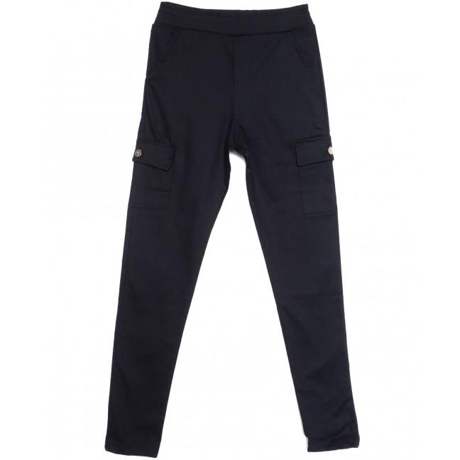 0412 Bikelife брюки карго женские темно-синие весенние стрейчевые (S-XL, 4 ед.) Bikelife: артикул 1105670