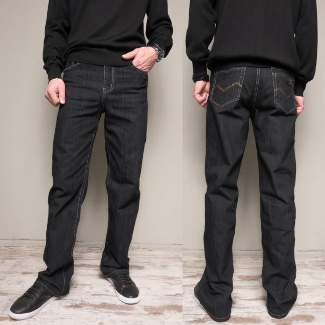 17009 (B) черные батал WVS джинсы мужские батальные черные весенние стрейчевые (36-42, 4 ед.) WVS: артикул 1104831