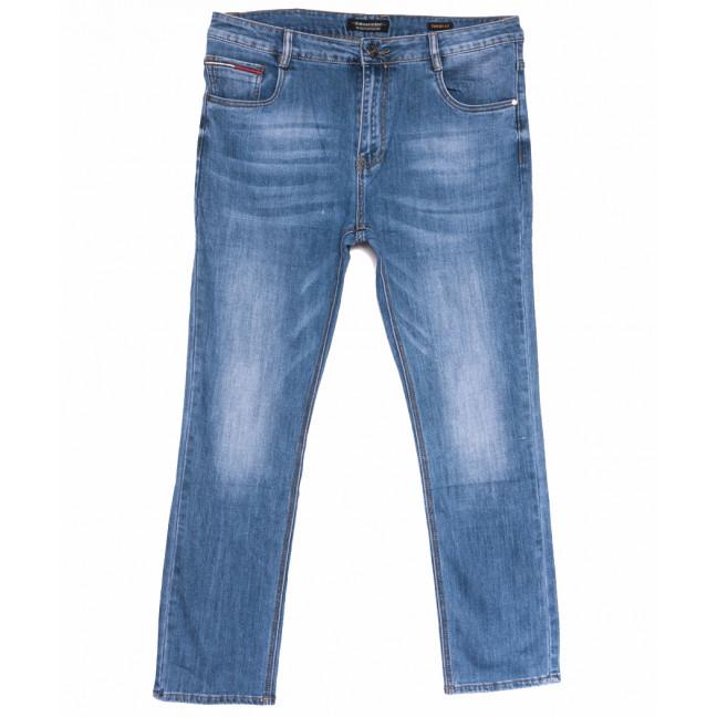 9065 Dimarkis Day джинсы мужские полубатальные синие весенние стрейчевые (32-42 , 8 ед.) Dimarkis Day: артикул 1105258