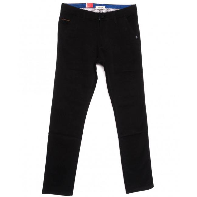 0163-34 Pobeda брюки мужские черные весенние стрейчевые (27-34, 8 ед.) Pobeda Denim: артикул 1105086