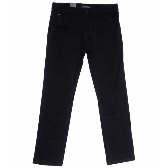 3016-D брюки мужские батальные черные весенние стрейчевые (34-42 , 8 ед.) LS: артикул 1105290