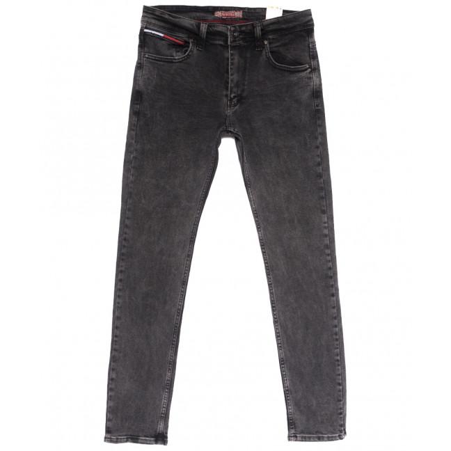 6716 Redcode джинсы мужские полубатальные серые весенние стрейчевые (32-40, 8 ед.) Redcode: артикул 1105533