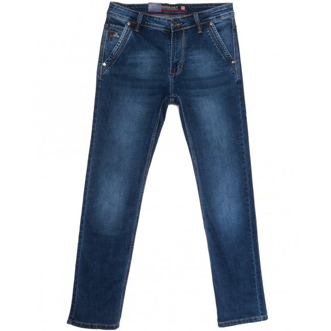 9331 Baron джинсы мужские полубатальные синие весенние стрейчевые (32-38, 8 ед.) Baron: артикул 1105698