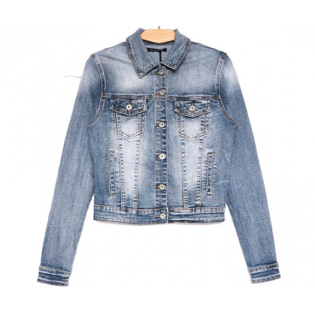 9053 Saint Wish куртка джинсовая женская синяя весенняя стрейчевая (ХS-XL, 5 ед.) Saint Wish: артикул 1104861