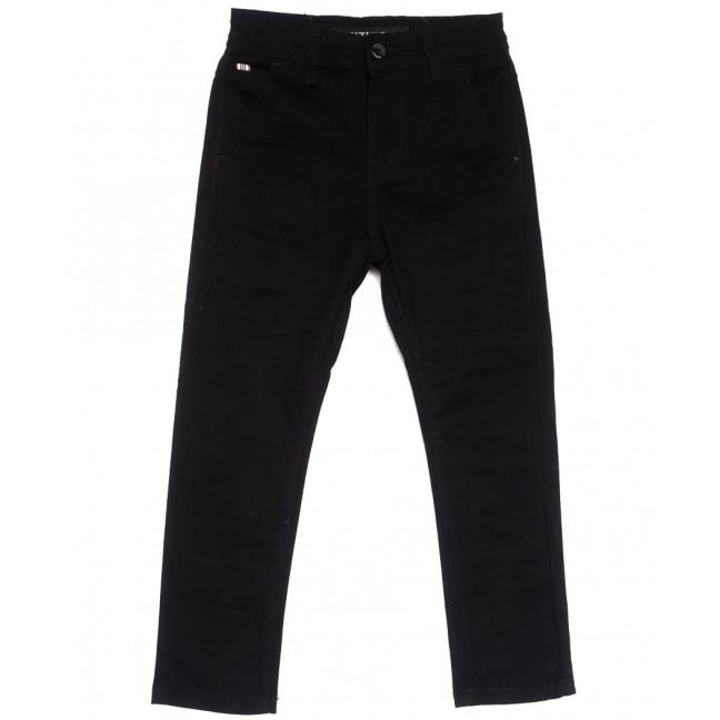 3005-T Vitions брюки на мальчика черные весенние стрейчевые (4-14, 6 ед.) Vitions: артикул 1105554