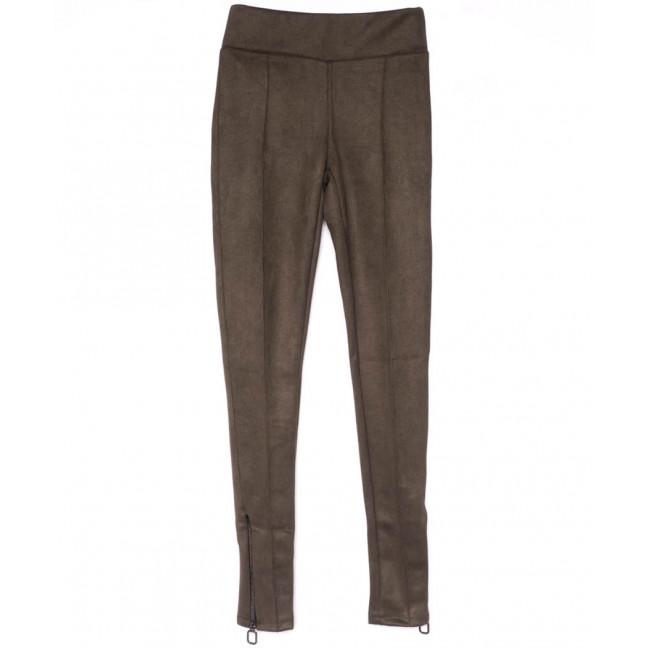 0630-42 Exclusive лосины замшевые коричневые весенние стрейчевые (42-46, 3 ед.) Exclusive: артикул 1104948