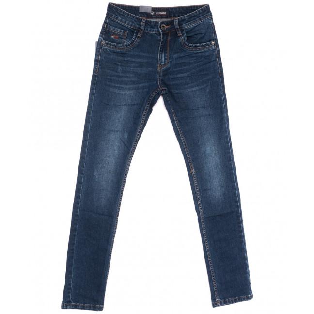 1049 LS джинсы мужские молодежные синие весенние стрейчевые (28-36, 8 ед.) LS: артикул 1105561
