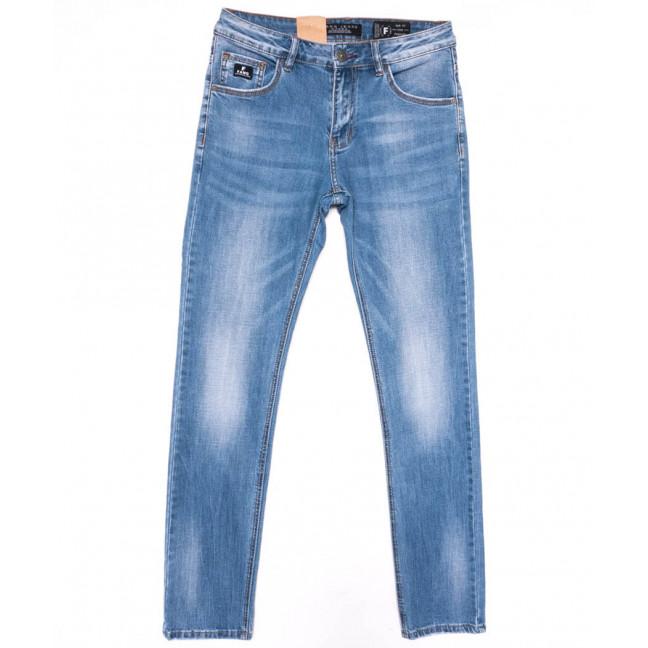2222 Fang джинсы мужские синие весенние стрейчевые (30-38, 8 ед.) Fang: артикул 1104523