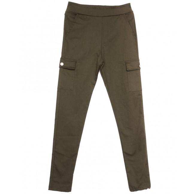 0408 Bikelife брюки карго женские хаки весенние стрейчевые (S-XL, 4 ед.) Bikelife: артикул 1105662